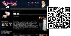 Magician Lancashire Mobile Ready Website