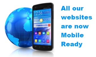 All our websites are mobile ready