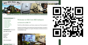 The Old Corn Mill mobile website