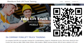 Blackburn Forklift Truck Training