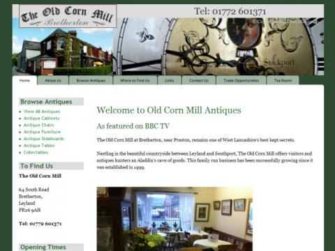 Old Corn Mill Website