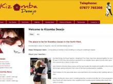 Kizomba Desejo dance classes Lancashire