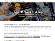 Blackburn Fork Lift Truck Training