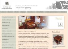 Sturmans Antiques website