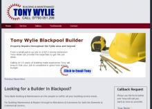 Tony Wylie Blackpool Based Builder